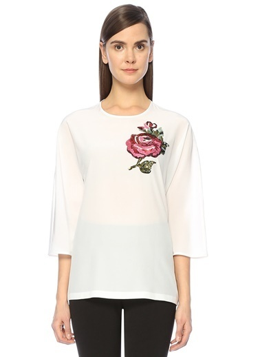 Truvakar Kol İpek Bluz-Dolce&Gabbana